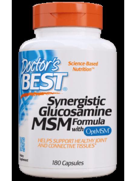 Глюкозамин, МСМ, Doctor's Best, 180 капсул