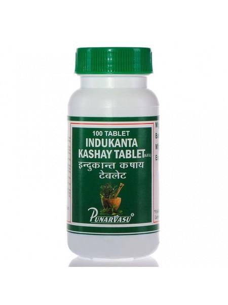 Индуканта кашая (Indukanta Kashaya Tablet), PUNARVASU, 100 таб