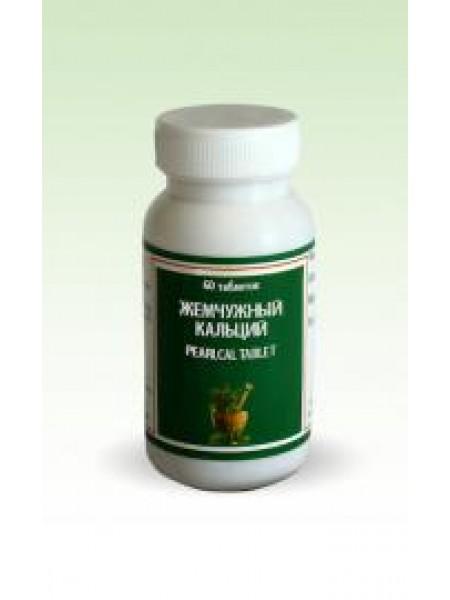 Жемчужный кальций /Мукта пишти (Pearlcal), Punarvasu, 60 таб