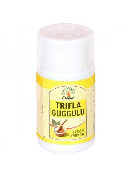 Трифала гуггул (Triphala guggulu), DABUR, 40tab