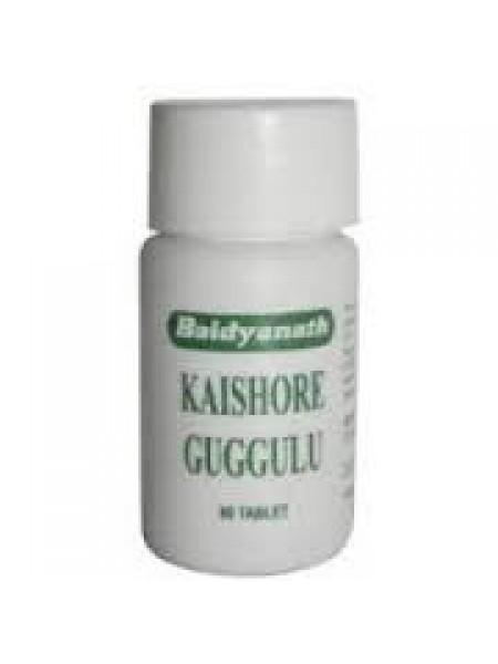 Кайшора Гуггул (Kaishore Guggulu), Baidyanath 80таб