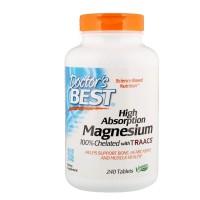 Магний глицинат, Doctor's Best, 120 таблеток