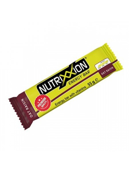 Nutrixxion Bar Oat Raisin 55 g